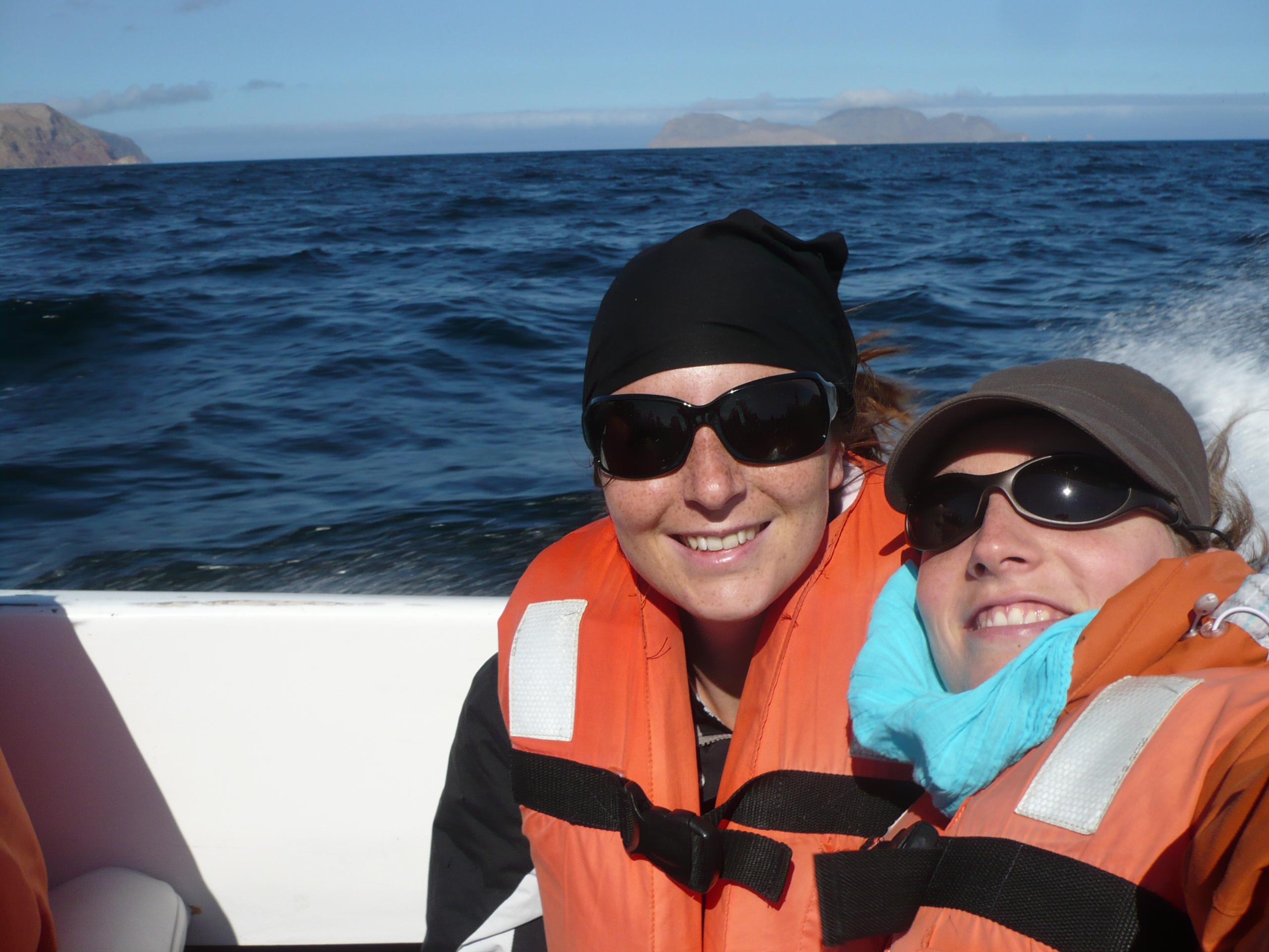 Sur le bateau, en route pour les iles Ballestas