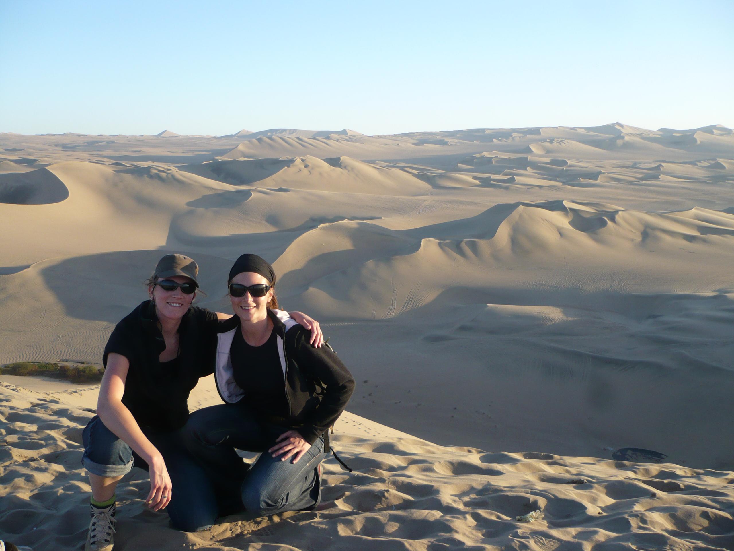 Sur les dunes de Huacachina pour voir le coucher de soleil